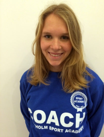 Frida Retsloff – Office & Sport Manager