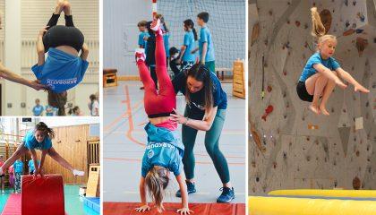 Påsklov: Akrobatik- & Gymnastikläger v.14