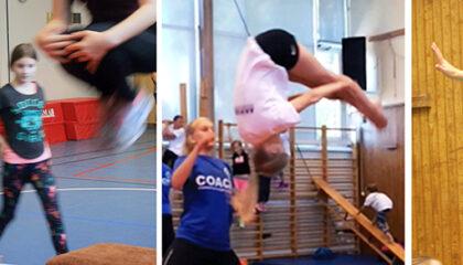 Nyår: Akrobatik- & Gymnastikläger v.1