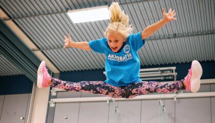 Sportlov: Akrobatik- & Gymnastikläger v.9